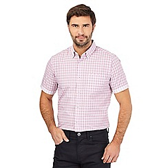 The Collection - Big and tall pink checked print shirt