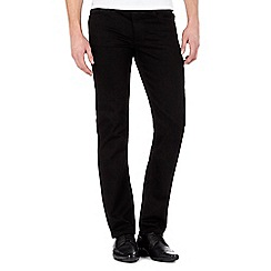 The Collection - Big and tall black slim fit jeans