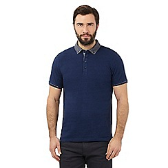The Collection - Blue diamond polo shirt