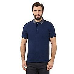 The Collection - Blue diamond polo shirt