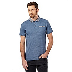 The Collection - Big and tall blue polo shirt