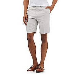 The Collection - Big and tall beige chino shorts