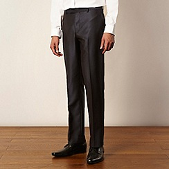 Red Herring Red Line - Light grey lapel tonic suit trousers