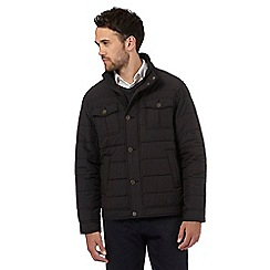 The Collection - Black quilted jacket