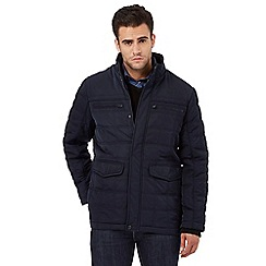 The Collection - Navy quilted jacket