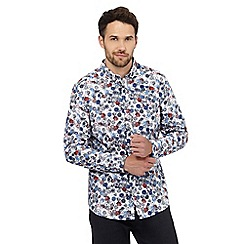The Collection - White floral print shirt