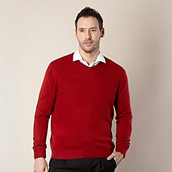 Thomas Nash - Red v-neck jumper