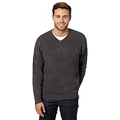 Thomas Nash - Dark grey V neck jumper