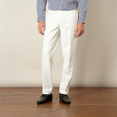 Thomas Nash - White formal trousers