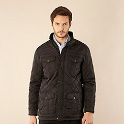 The Collection - Big and tall black four pocket jacket
