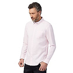The Collection - Big and tall pink tailored fit shirt