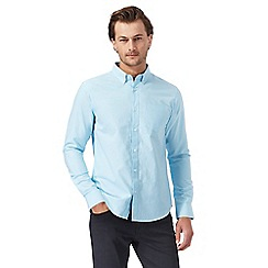 The Collection - Turquoise tailored fit shirt