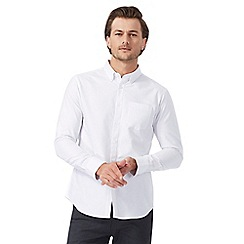 The Collection - Big and tall white tailored fit shirt