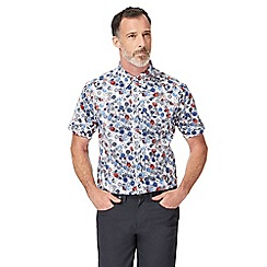 The Collection - Big and tall multi-coloured floral print shirt