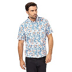 The Collection - Big and tall multi-coloured floral print regular fit shirt