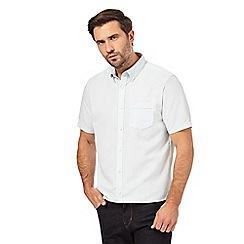 The Collection - White short sleeve plain shirt