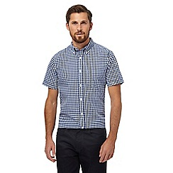 The Collection - Blue gingham pattern shirt