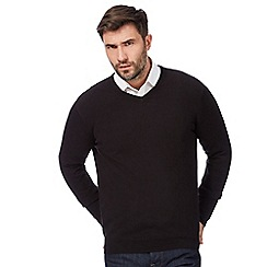 The Collection - Black V neck jumper