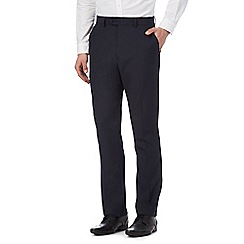 The Collection - Big and tall navy pinstripe trousers