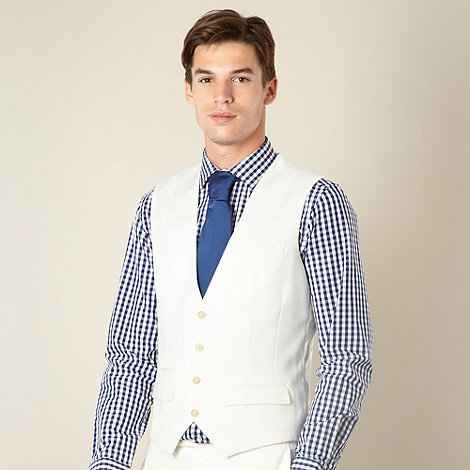 Thomas Nash - White formal waistcoat