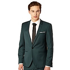Thomas Nash - Turquoise slim lapel suit