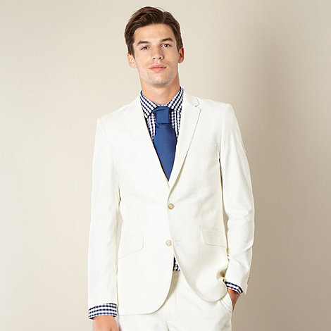 Thomas Nash - White formal blazer jacket
