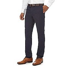 The Collection - Navy belted chinos