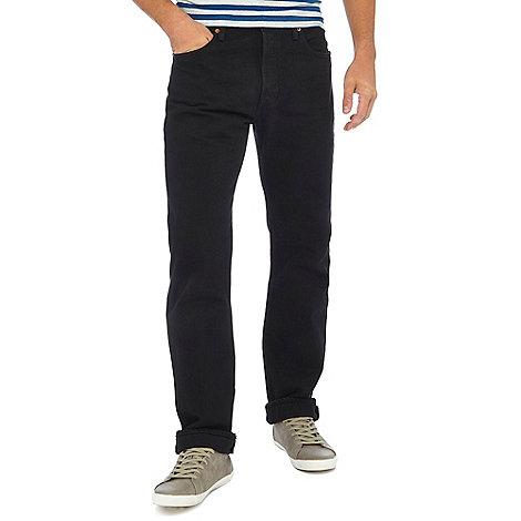 Levi+s - 501® black straight leg jeans