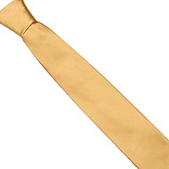 Thomas Nash - Yellow sheen finish tie