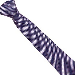 Thomas Nash - Pink diamond patterned silk tie