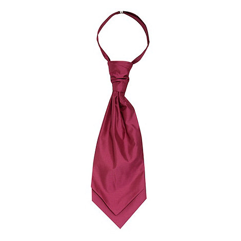 Black Tie - Dark pink cravat