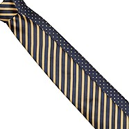 Thomas Nash - Pack of two yellow spot and striped ties