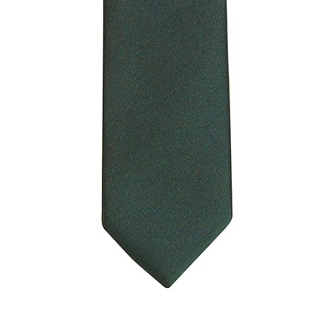 Red Herring - Dark green skinny tie