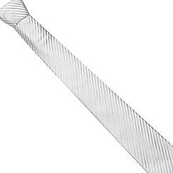 J by Jasper Conran - Designer ivory striped silk tie