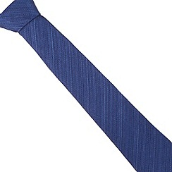 Hammond & Co. by Patrick Grant - Designer blue wool blend tie
