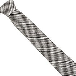 Hammond & Co. by Patrick Grant - Designer grey dogtooth tie