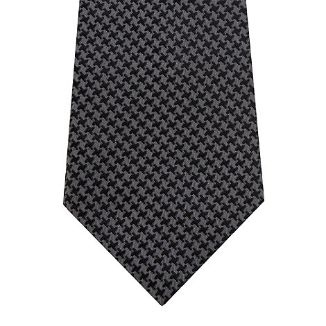 Hammond & Co. by Patrick Grant - Designer grey dogtooth silk tie