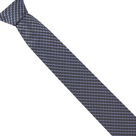 Hammond & Co. by Patrick Grant - Designer navy linked circles silk tie