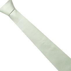 Thomas Nash - Green woven squares tie