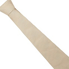 Thomas Nash - Yellow textured mini diamond tie