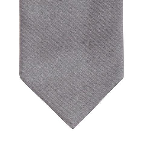 Thomas Nash - Grey plain tie