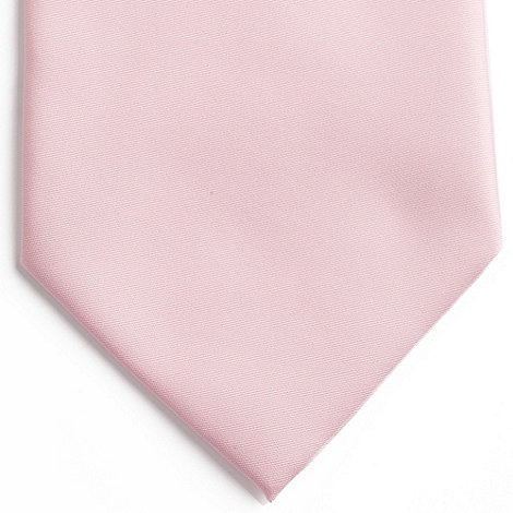 Thomas Nash - Light pink plain tie