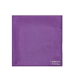 Hammond & Co. by Patrick Grant - Designer purple 4 in 1 pocket square