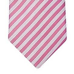 Hammond & Co. by Patrick Grant - Designer pink fine silk tie