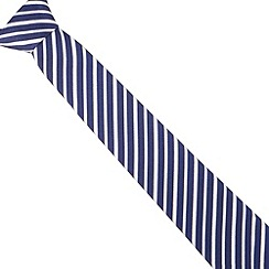 Hammond & Co. by Patrick Grant - Designer navy fine striped tie