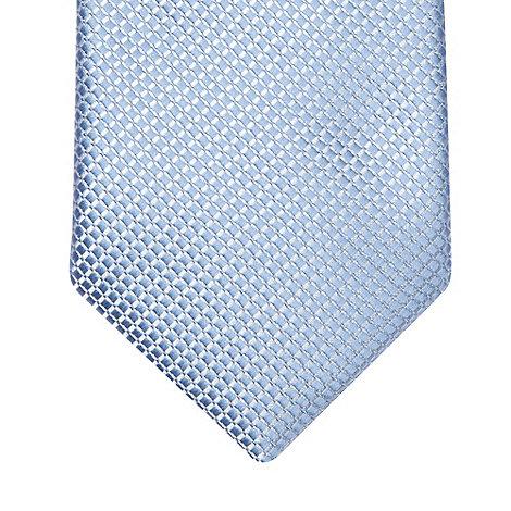 Black Tie - Light blue skinny dress tie