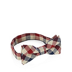 Red Herring - Red checked bow tie