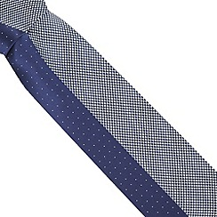 Thomas Nash - Blue crosses and pin dot pack of ties
