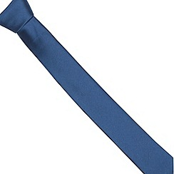 Red Herring - Dark blue skinny tie