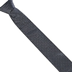 Thomas Nash - Black geo grid tie